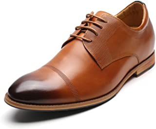 Mens Shoe Tan 5 œillets Oxford Cravate Formel Chaussures Taille 6-13
