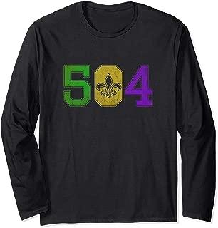 Mardi Gras 504 T Shirt Nola New Orleans Louisiana LA 2019
