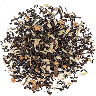Masala Chai Té Orgánico Negro India - Picante Té De Hoja Chai - Delicioso Assam Mezcla Con Especias De La India 200g