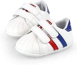 LiveBeauty Newborn Baby Girl Boy Shoes Soft Sole Anti-Slip Walking Sneakers Infant Prewalker Crib Shoes for 4 4.5 5 5.5 6 6.5M Toddler Girls Boys