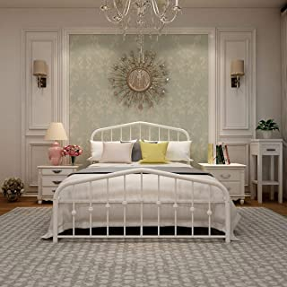 Best full size bed frame headboard and footboard Reviews