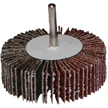 Continental Abrasives FW-112040 1 1//2-Inch by 1-Inch by 1//4-Inch Aluminum Oxide with Fiberglass Backing Flap Wheel