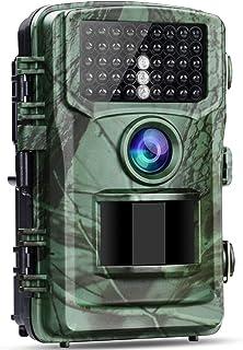"Wildlife Camera 4K 20MP Hunting Trail Camera, 120° Wildlife Monitoring Night Vision Motion Activated Game Cameras 2.0"" LCD..."