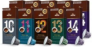 Elite Coffee Nespresso Compatible Coffee Capsules - The Strong Stuff. Compatible with Nespresso OriginalLine Machine, 5 Strong Blends, 100 Capsules