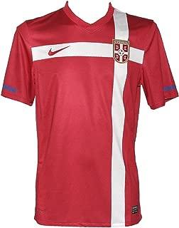 Men's Serbia Away Jersey 2010-Red