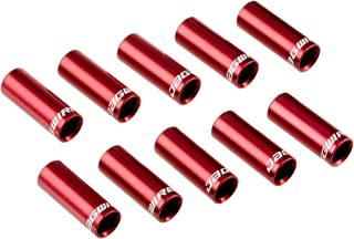 JAG WIRE(JAG WIRE) SEALED END CAP 4mm 换挡用保护盖 10个装 红色 BOT057RJ/10