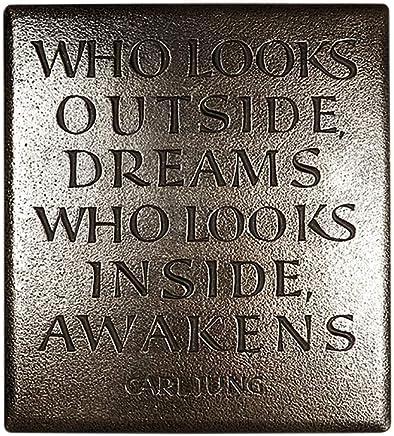 Citation de Peter Pan A4/Plaque en m/étal Plaque Murale Artylicious Faith Light Grunge Trust et Un Peu de Pixie Dust