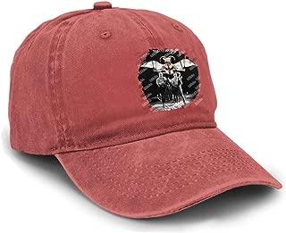 HuiXieJian Unisex Tenacious D Baseball Hats Adjustable Cotton Denim Dad Snapback Cap Black