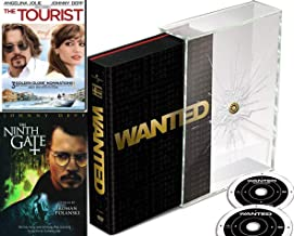 A Secret Society of Assassins Wanted Special Limited Edition Angelina Jolie Box Set + Johnny Depp Double Feature The Tourist + Ninth Gate Roman DVD Polanski Film