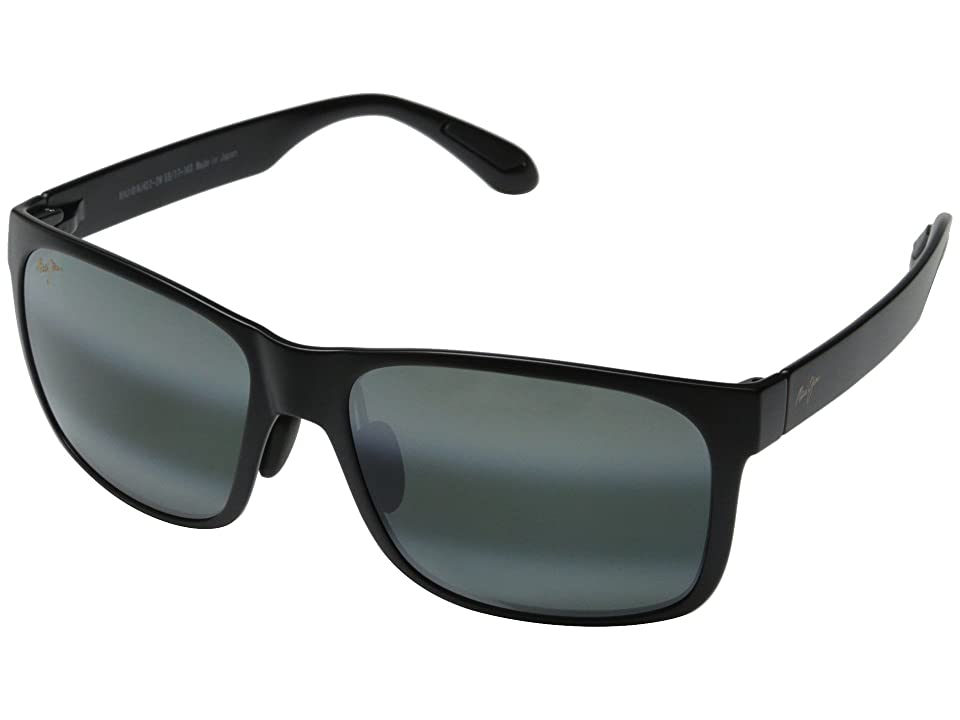 Maui Jim Red Sands (Matte Black/Neutral Grey) Fashion Sunglasses