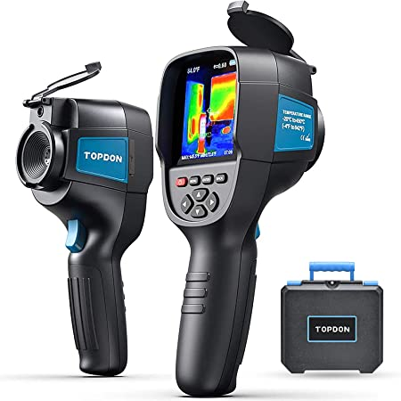 """Thermal Camera Infrared Camera ITC629, 220x160 Resolution, 35200 Pixels Handheld Thermal Imaging Camera, -4°F to 842°F, 9Hz Rate Thermal Imager, 3.2"""" Color Display Battery Included"""