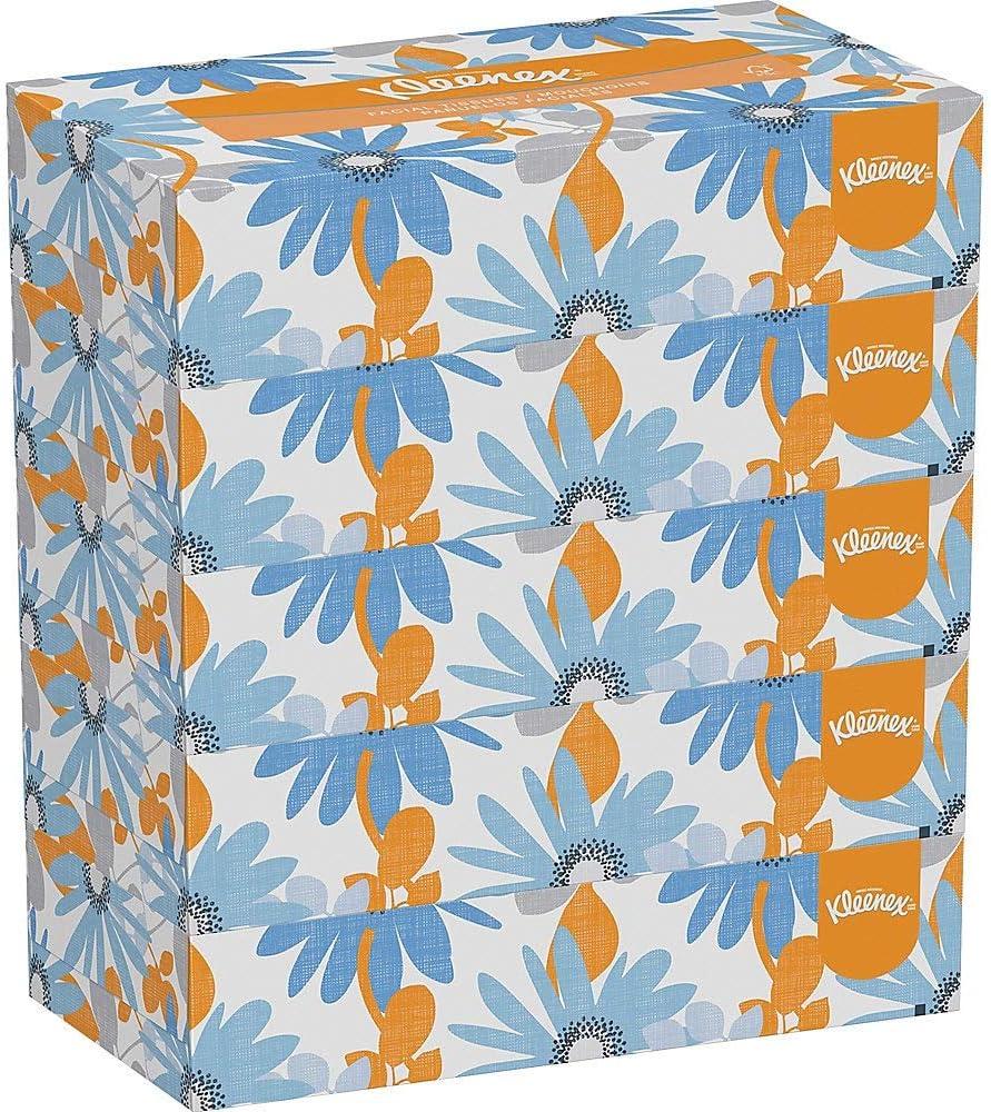 Kleenex Spacesaver Facial Ranking TOP15 Tissue Under blast sales White PK 5