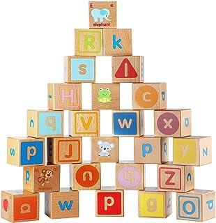 Rompecabezas letras madera