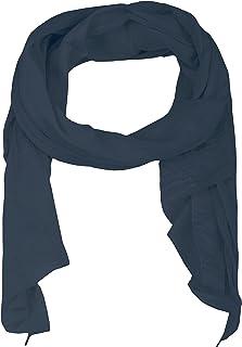 Zwillingsherz Foulard en soie pour femme et fille uni Accessoire élégant / coton / soie / foulard / foulard à épaule ou fo...