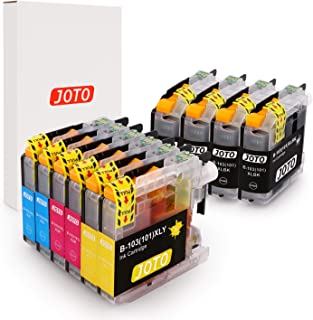 JOTO Compatible Ink Cartridge Replacement for Brother LC-103XL LC103XL LC103 XL MFC J870DW J450DW J470DW J650DW J4410DW (4 Black, 2 Cyan, 2 Magenta, 2 Yellow, 10 Pack, High Yield)