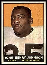 Football NFL 1961 Topps #105 John Henry Johnson Near Mint Steelers