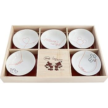 ディズニー ミッキー 「Love of Destiny」 ギフト 食器セット 小鉢揃 木箱入り 3180-01