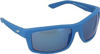 Arnette AN4216 233355 61/18 Sunglasses Fuzzy Denim/Blue Mirror