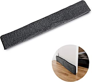 TIURE Door Draft Stopper Keep Draught Out with This Weather Strip That Attaches to Your Door Helps to Keep Out The Cold Fits on Standard Sized 36 Inch Door