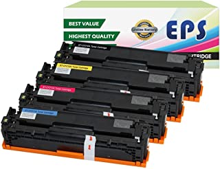 4PK EPS Replacement Toner Cartridge for HP 131A 131X Laserjet Pro M251 M276 (1xCF210X, 1xCF211A, 1xCF212A, 1x CF213A)