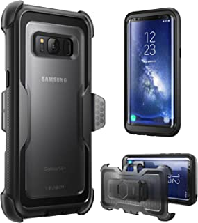 i-Blason Armorbox Series Case for Galaxy S8, [Full Body] [Heavy Duty] Shock Reduction / Bumper Case Without Screen Protector for Samsung Galaxy S8 2017 Release (Black)