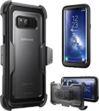 i-Blason Armorbox Series Case for Galaxy S8+ Plus, [Full body] [Heavy Duty] Shock Reduction / Bumper Case WITHOUT Screen Protector for Samsung Galaxy S8 Plus 2017 Release (Black)
