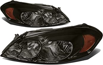 For Chevy Impala/Monte Carlo Pair of Smoked Lens Amber Corner Headlight