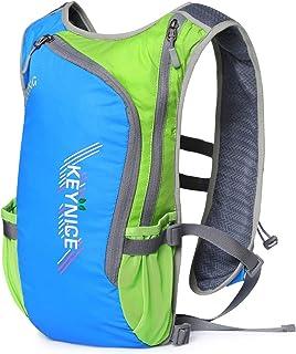 超軽量 KEYNICE ランニングバッグ マラソンリュック デイパック 防水 光反射 5Lハイドレーション収納可 通気 アウトドア 登山 レース 遠足 リュックサック 8L