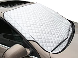 FREESOO XD01 Windscreen Frost Protector Car Snow Windshield Ice Cover Dust Sun Shade Morning Time Saver All Weather Large