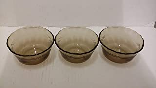 Corning Pyrex Amber Vision Visions Custard Cup