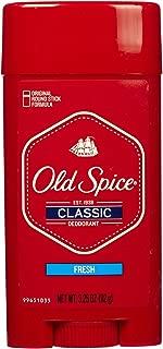 Old Spice Classic Stick Deodorant, Fresh - 3.25 oz