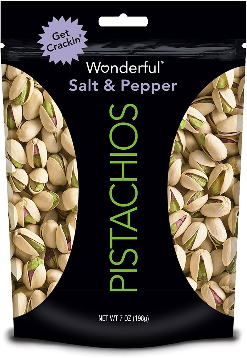 Wonderful Pistachios Deluxe Salt Now on sale and Pepper 7 Flavored Ounce Resealab