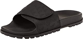 EMPORIO ARMANI X4P093, Men's Fashion Sandals (Black K001), 10 UK (44 EU)