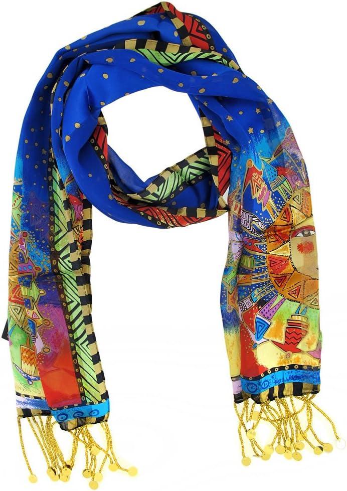 Laurel Burch LBS-130 Authentic Silk Los Regular dealer Angeles Mall Under Harmony Scarf The Art
