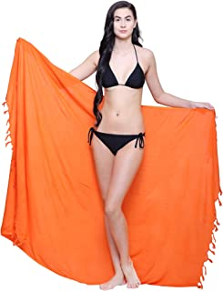 TC Womens Sarong Pareo Soft Rayon Cover Up Wrap Beach