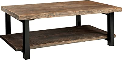 Alaterre Sonoma Rustic Natural Coffee Table, Brown, 42""