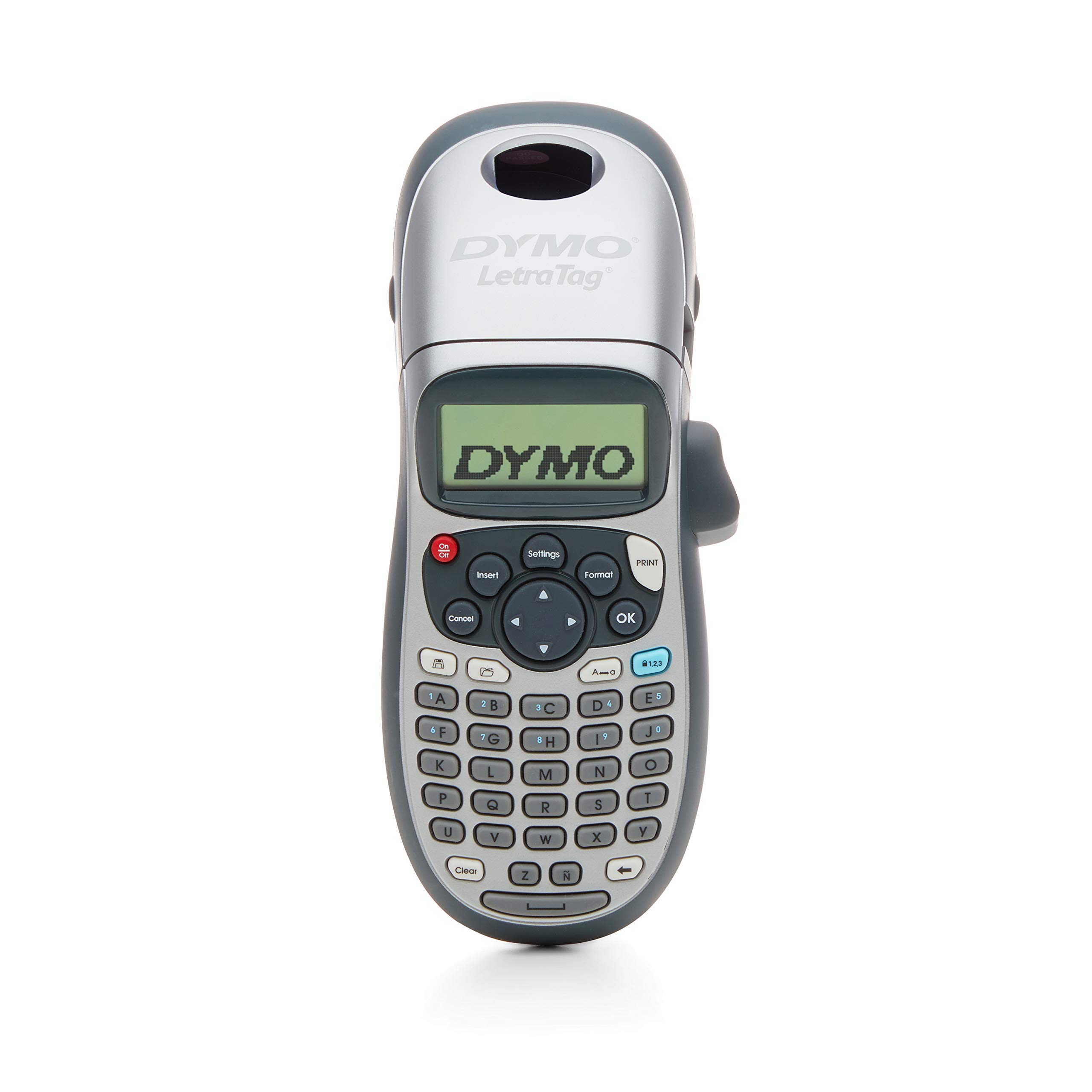 DYMO LetraTag 100H Plus Handheld Label Maker for Office or Home 1 Pack
