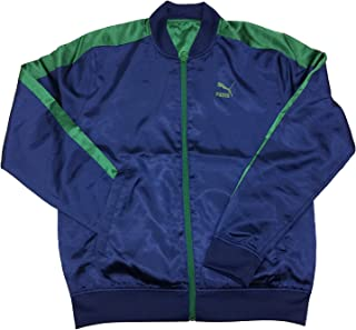 Mens Reversible Satin Track Jacket
