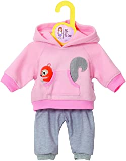 Dolly Moda Zapf Creation 870044 Dolly Moda Sport-Outfit Pink, Puppenkleidung 39-46 cm