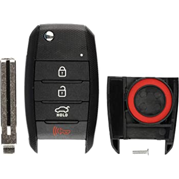 TQ8-RKE-3F05 OSLOKA-910T OSLOKA-875T 2pcs Compatible with Kia Flip 4 Button Silicone FOB Key Case Cover Protector Keyless Remote Holder for 2013-2019 Kia Forte Optima Rio Sedona Sorento Soul Sportage