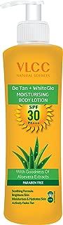 VLCC De Tan Plus White Glow Moisturising Body Lotion SPF 30 PA+++, 350ml