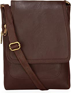 BumBart Collection Women's Sling Bag (SBB0000108_Brown)