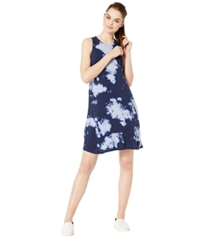 LAmade Sizzle Dress in Tie-Dye (Dark Navy Tie-Dye) Women