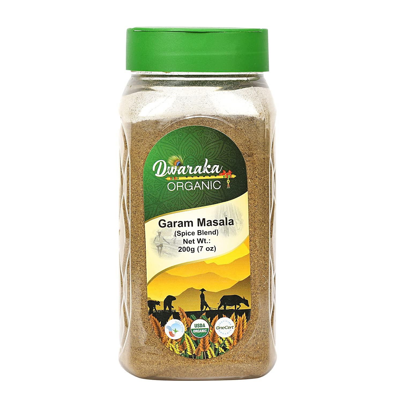 Dwaraka Organic - Garam Masala, 7oz, Healthy, Organic, Non GMO,