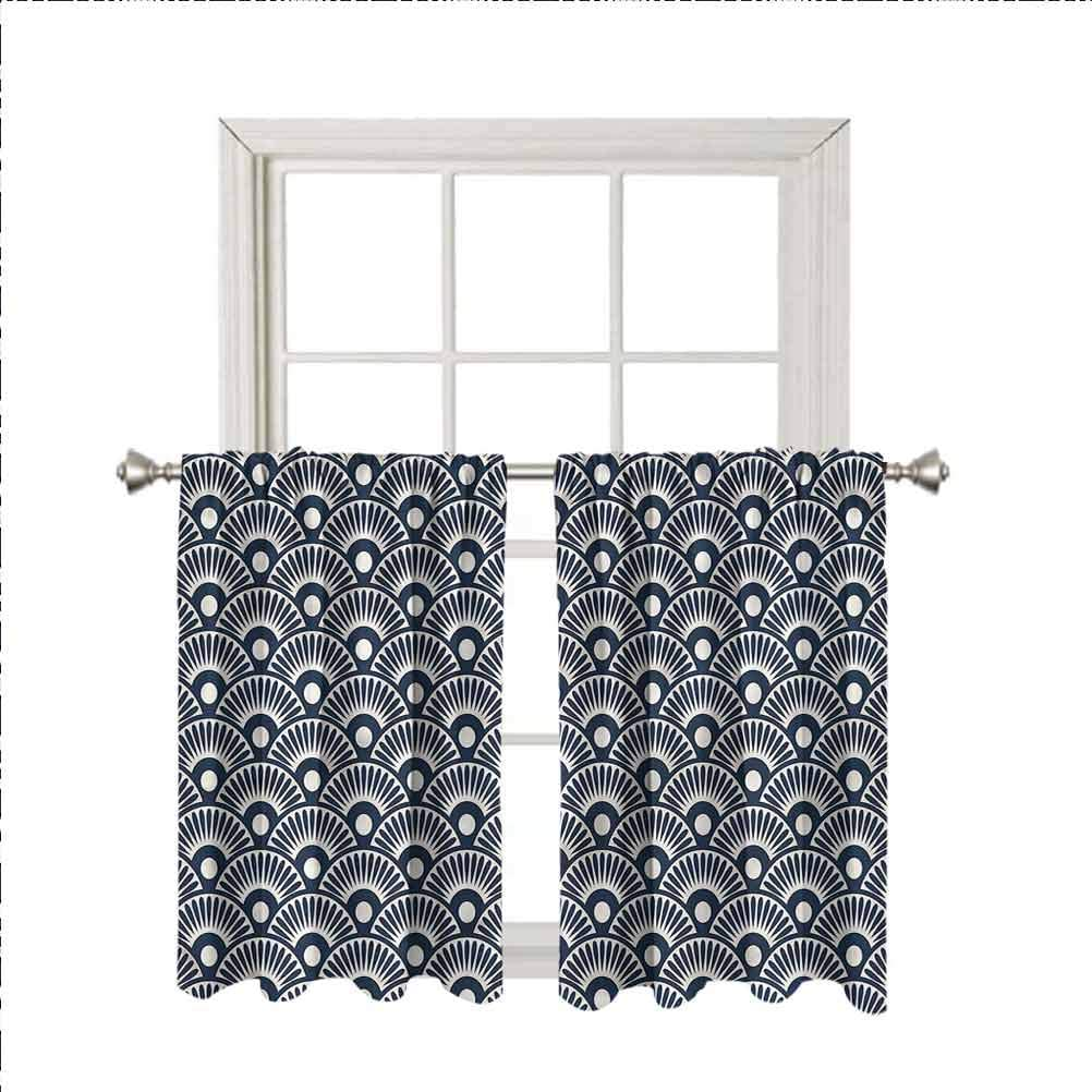 Geometric Charlotte Mall Window Valance Curtains Ancestral I 35% OFF Fan Design Thermal