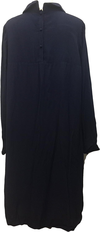 BODEN Women's Navy Collared Highbury Dress WH439 US Size 14 L