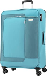 American Tourister Sens Softside Spinner Luggage with tsa lock