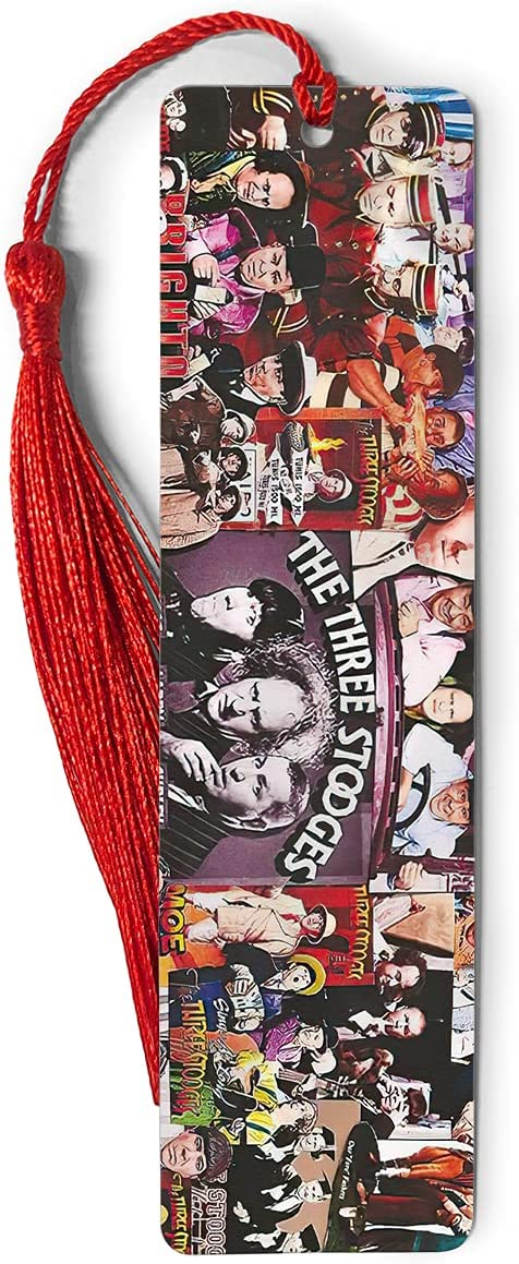 Bookmarks Metal Ruler The Bookography Measure Three Tass Max 78% OFF Stooges Department store