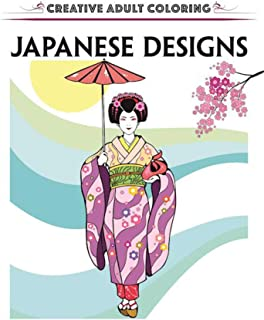 Creative Escapes Coloring Book: Japanese Designs
