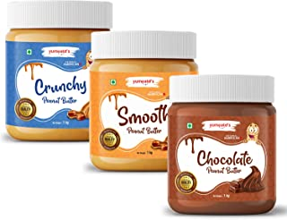 Yumeatd's Original Peanut Butter 1KG (Chocolate, Smooth, Crunchy)